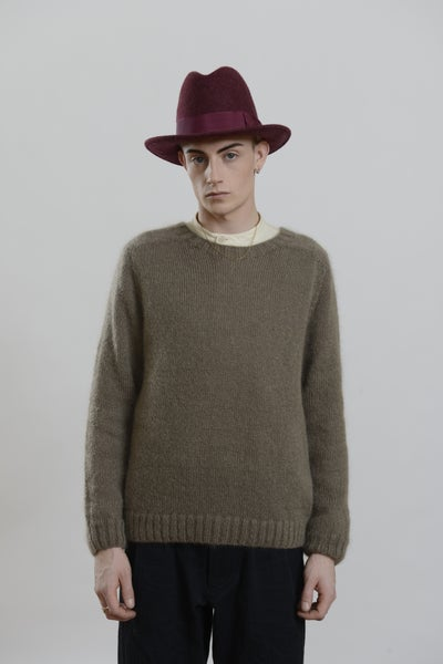 Image of Paris Mohair Jumper TABBACO