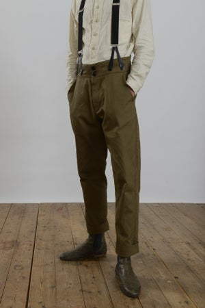 Image of High waisted Trouser TAN