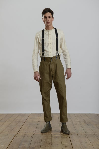 Image of High waisted Trouser Fawn