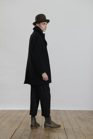 Image of BILL SYKES COAT- BLACK
