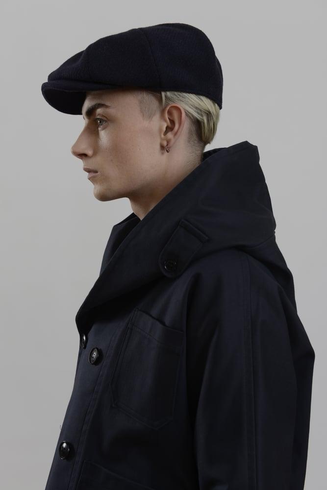Image of Theo Cap in Navy wool