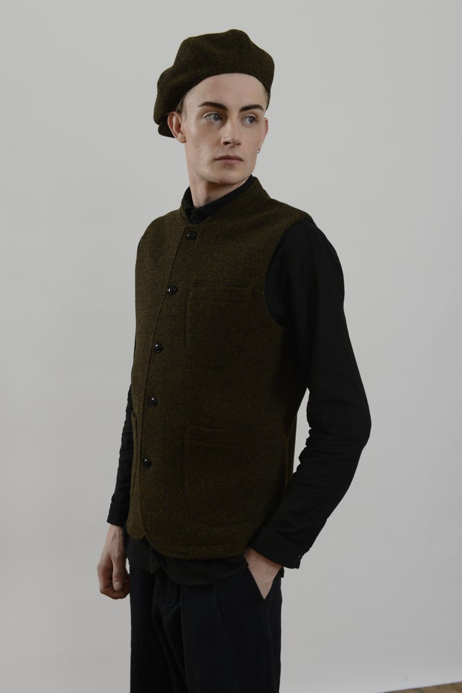 Image of Theo Cap in Heather wool