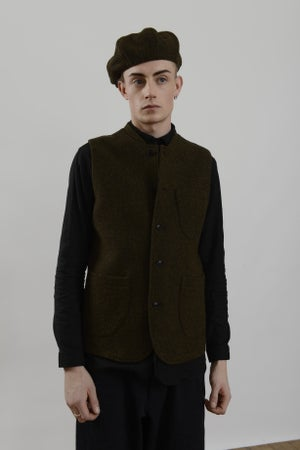 Image of Theo Cap in Heather wool £90.00