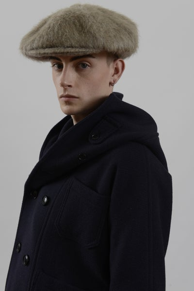 Image of Baker Boy cap in Mohair