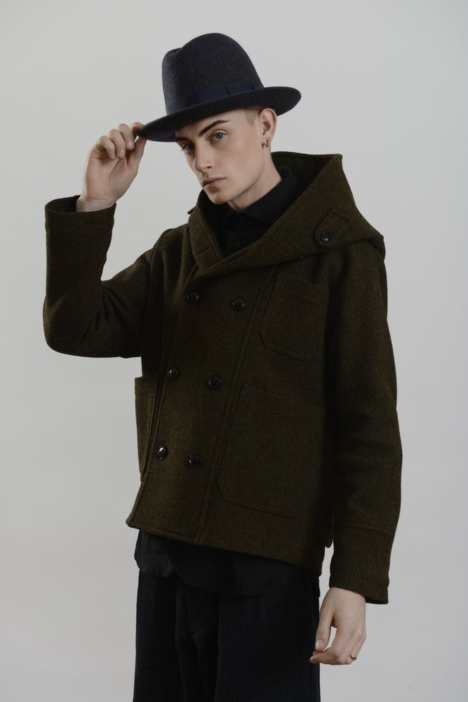 Image of Brixton Hat in Charcoal wool