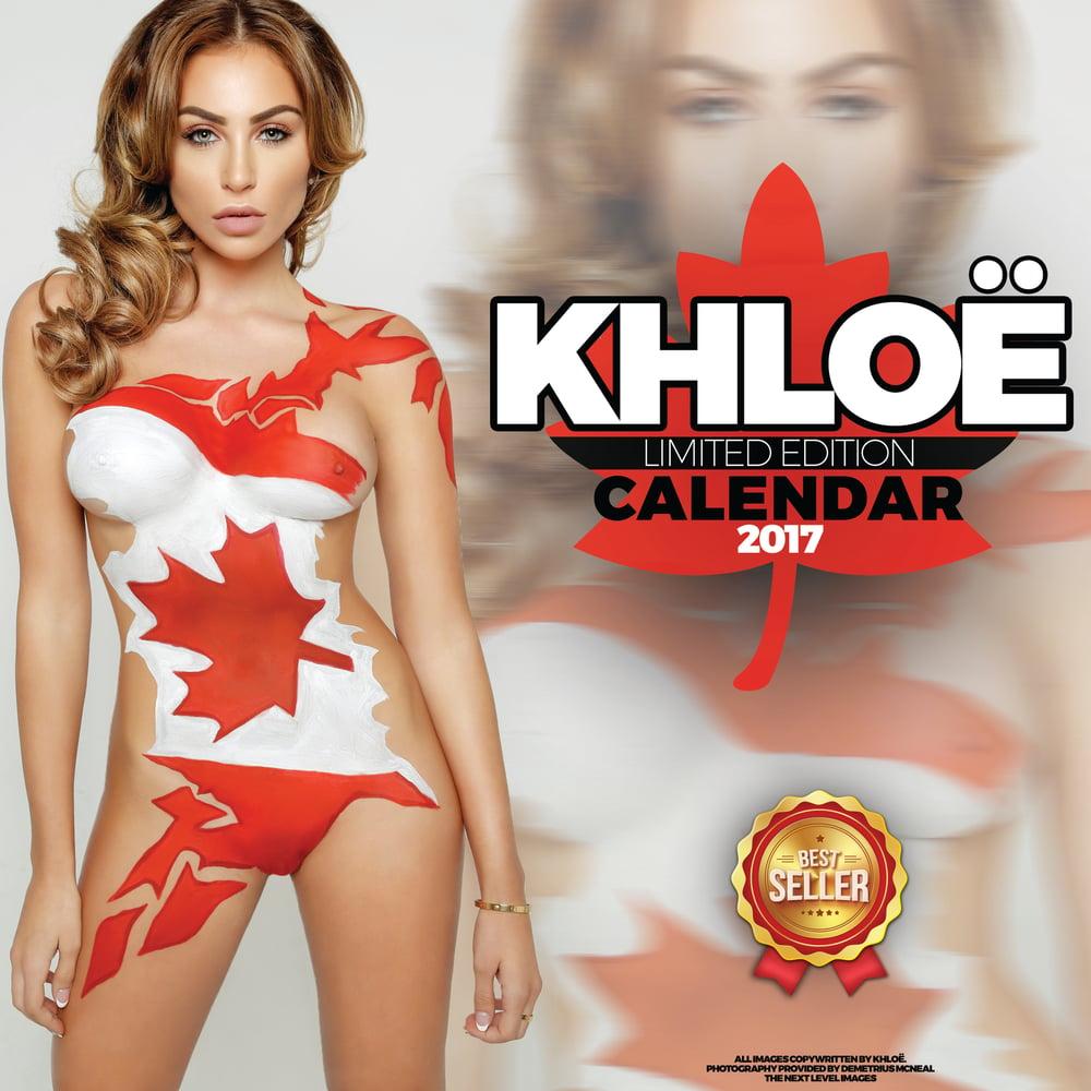 Image of Khloë Terae 2017 Calendar