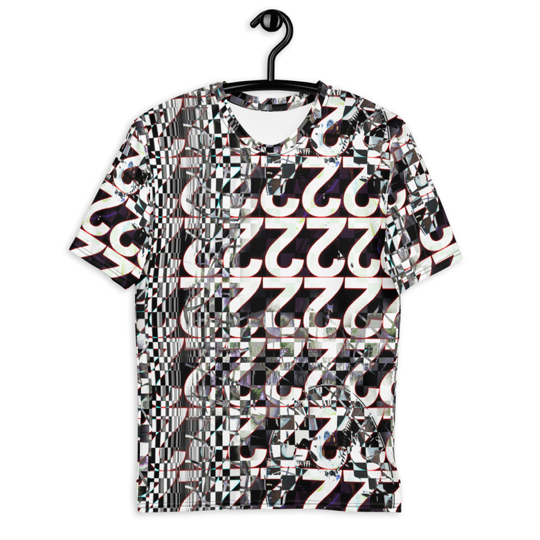 Image of symbol pattern all over t