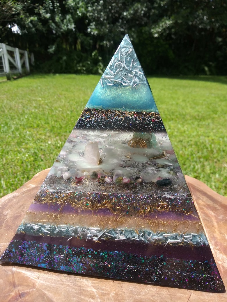 Image of XL Night-Light Oceanside Orgone