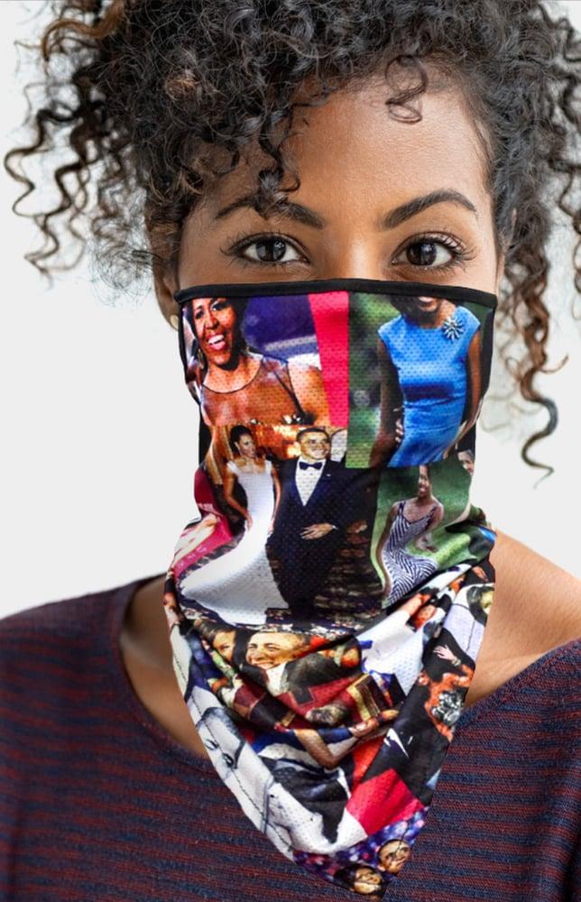 Image of Michelle Obama Neck Gaiter Mask