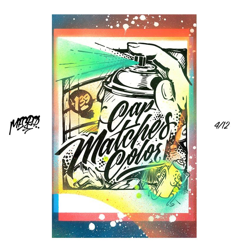 Image of [1-5] MECRO custom embellished prints