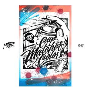 Image of [11-12] MECRO custom embellished prints
