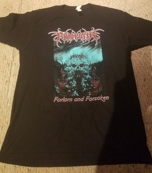 Image of Forlorn and Forsaken Cover Art T-Shirt