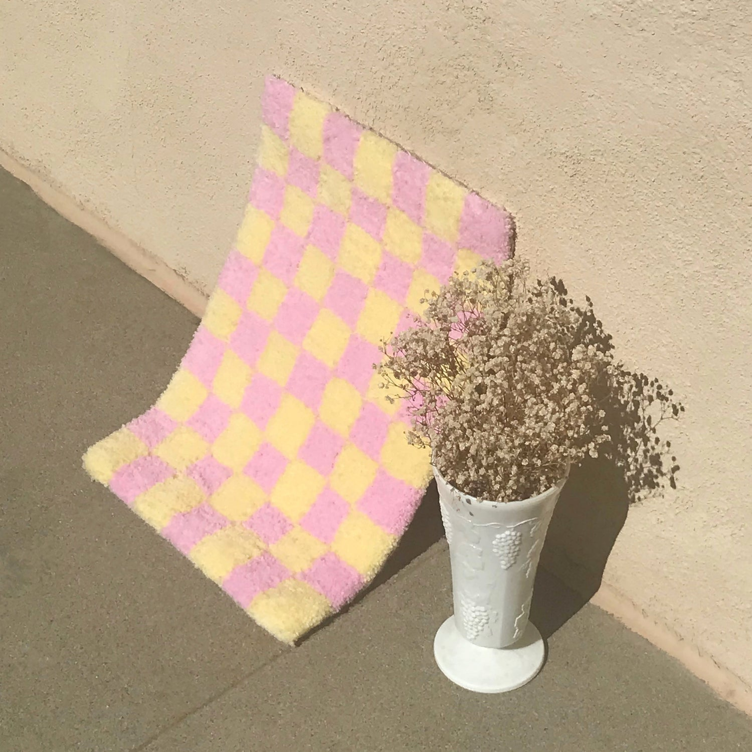Image of Mini Checkered Rug