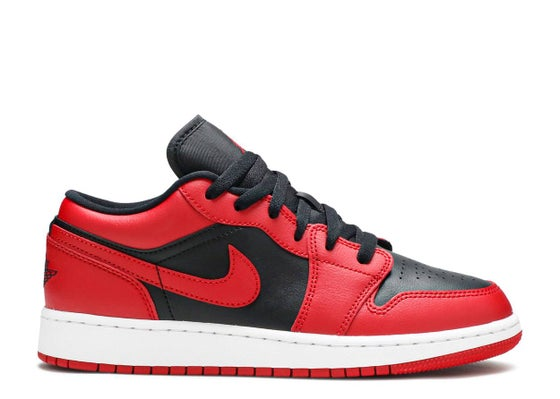 "Image of Air Jordan 1 Low ""Reverse Bred"" (GS)"