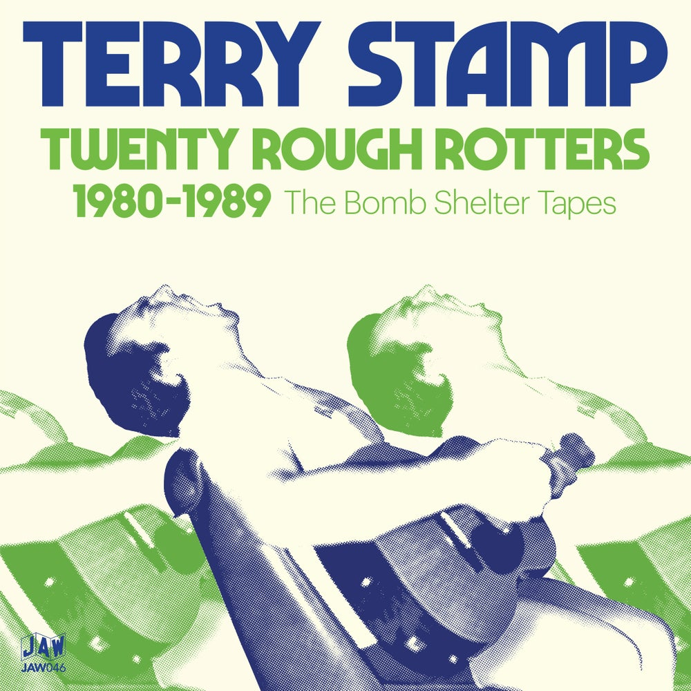 """Image of TERRY STAMP """"Twenty Rough Rotters 1980-1989"""" 2xLP JAW046"""
