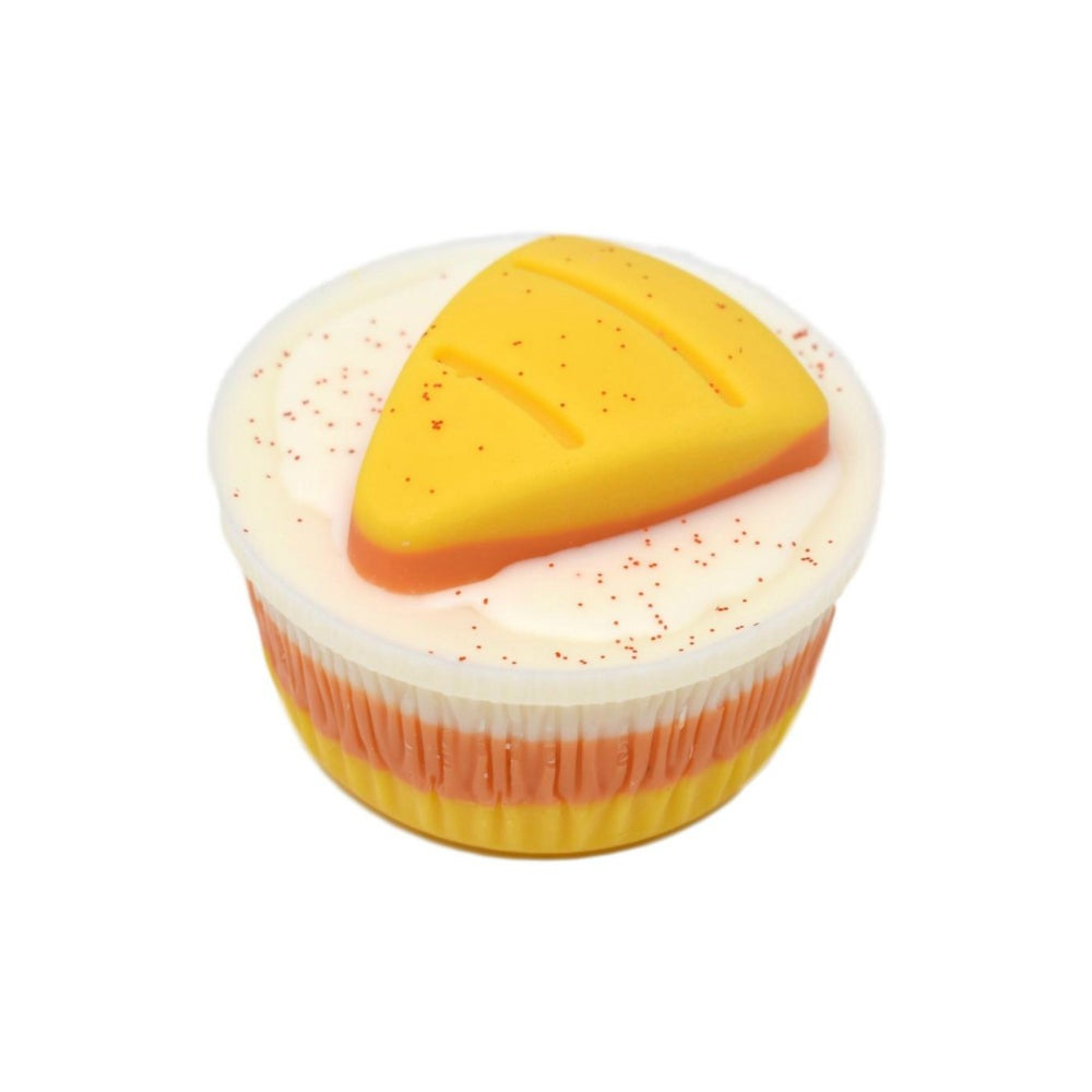 Image of Wax Cake - Candy Corn Cupcakes