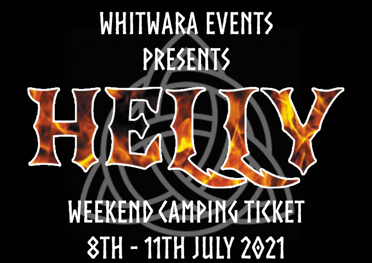 Image of HELLY 2021 Weekend with Camping Ticket