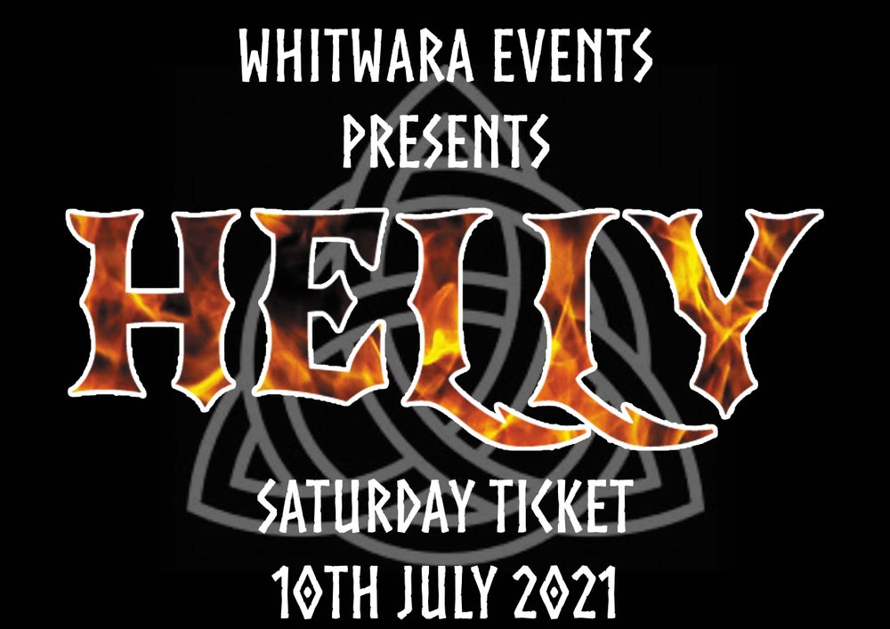 Image of HELLY 2021 Saturday Ticket