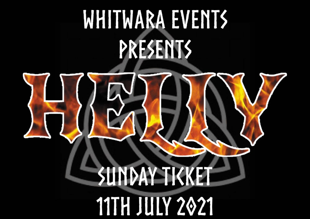 Image of HELLY 2021 Sunday Ticket