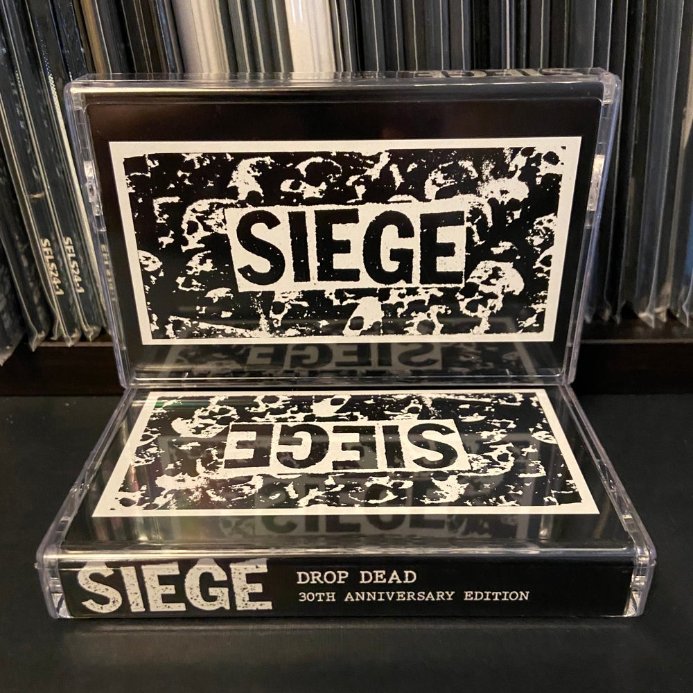 "SIEGE ""Drop Dead: 30th Anniversary Edition"" CD or Cassette"