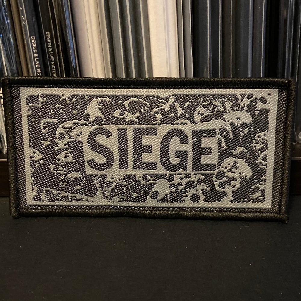 """SIEGE """"Logo"""" Woven Patch or Enamel Pin"""