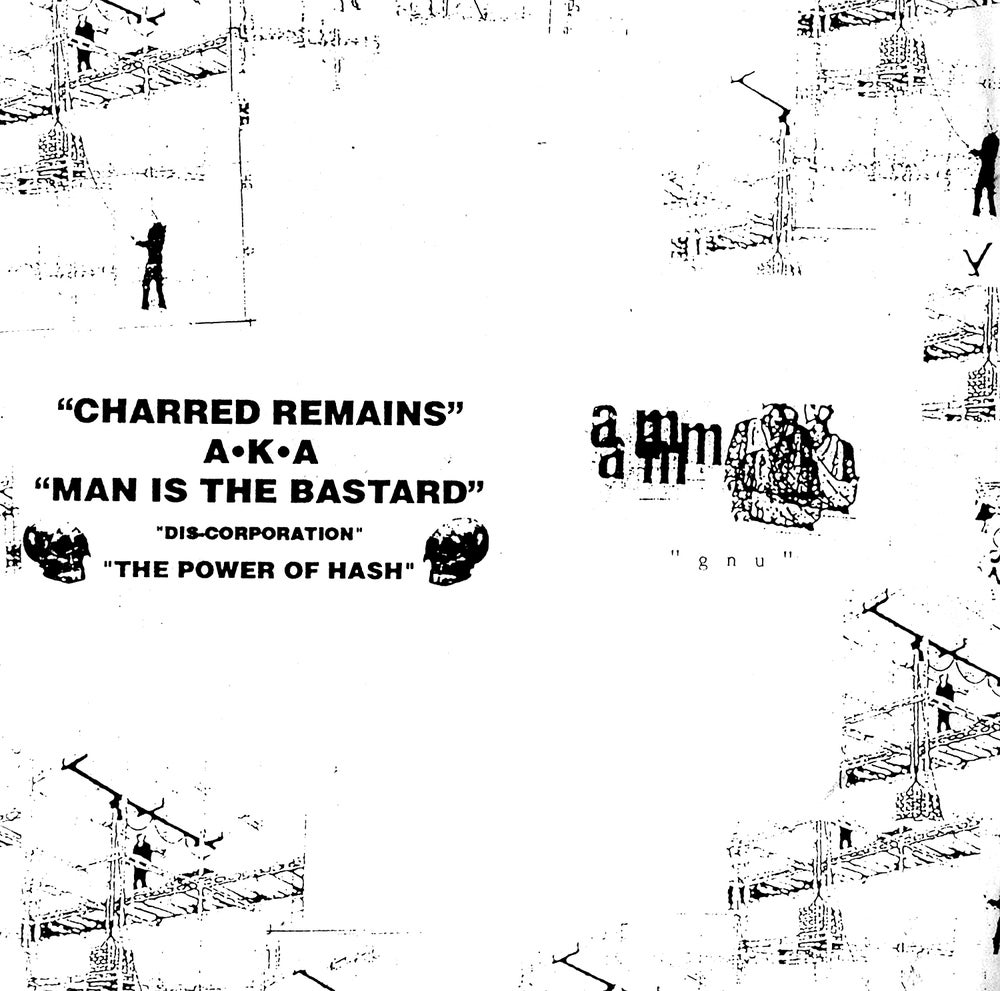 "MAN IS THE BASTARD / AUNT MARY Split 10"" LP"