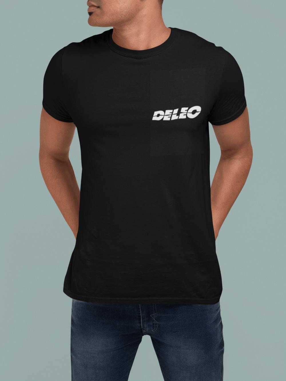 "Image of ""Deleo"" T-Shirt (Black, Man)"