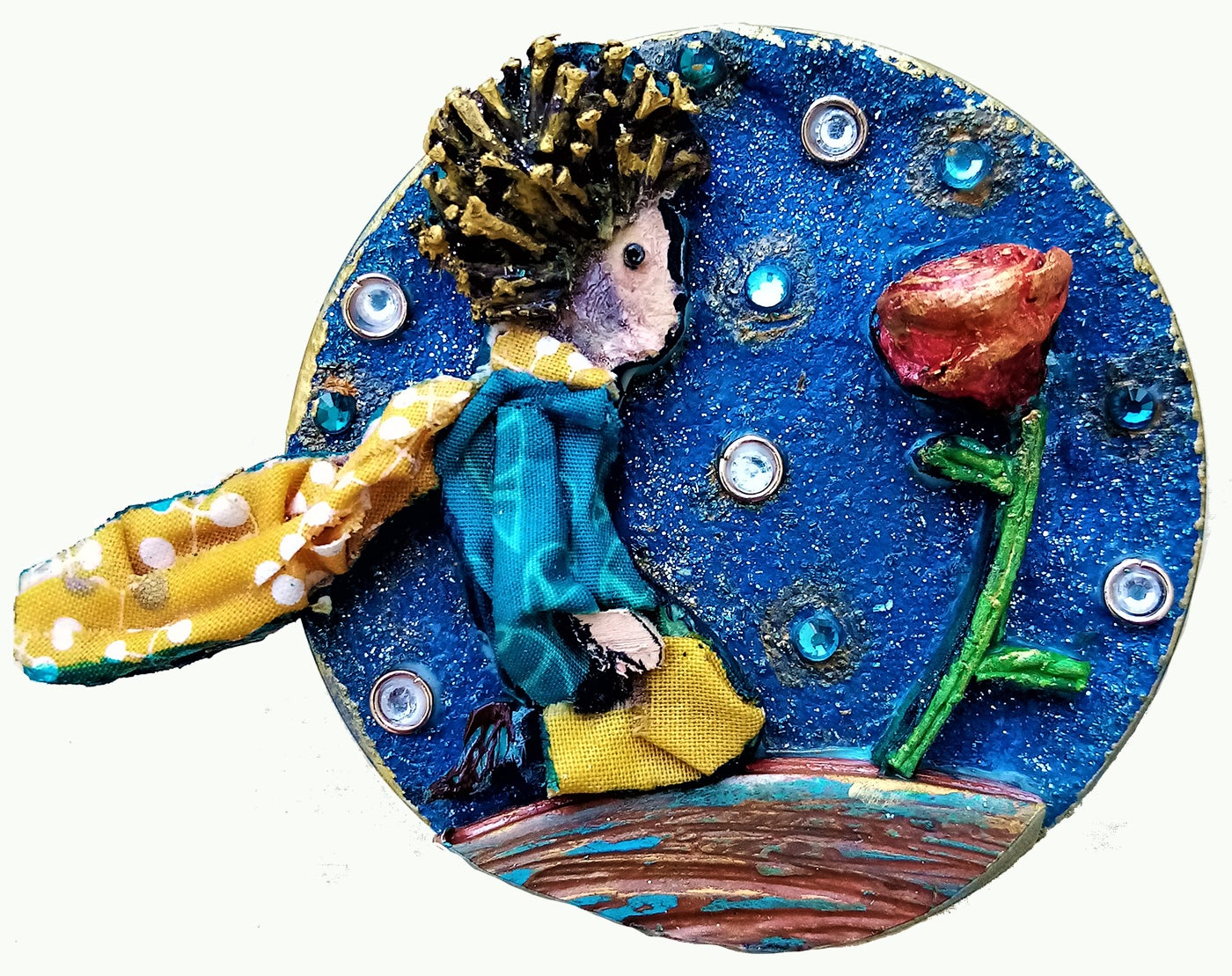 Image of Il piccolo principe e la rosa/Little Prince and the rose