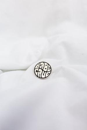 Image of Babe Cave Logo - Hard Enamel Pin