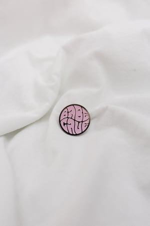 Image of Babe Cave Logo - Pink Soft Enamel Pin