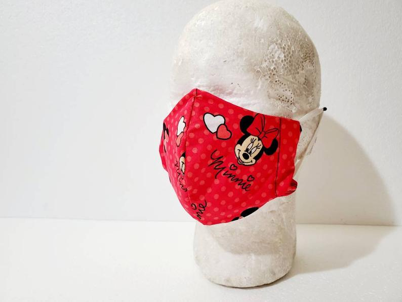 Image of Minnie Mouse Face Mask (Various Sizes)