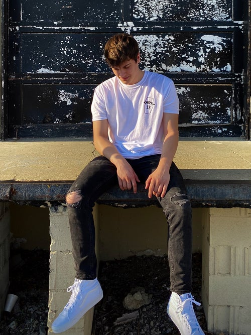 Image of White Coffin Tee
