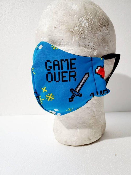 Image of Adult Fitted Gamer Face Mask