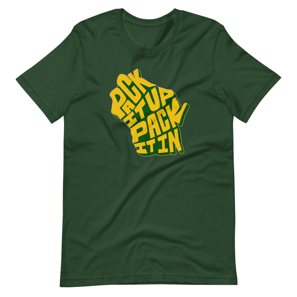 Image of PACK IT UP GREEN TEE