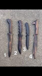 Image of Kamagong training daggers