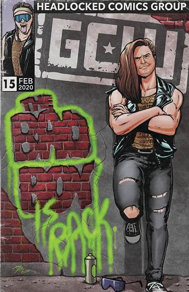 Image of GCW Bad Boy is Back Live Event Art Print
