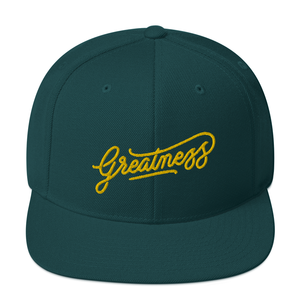 Image of GREATNESS SNAPBACK
