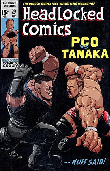 Image of GCW PCO vs Tanaka Live Event Art Print