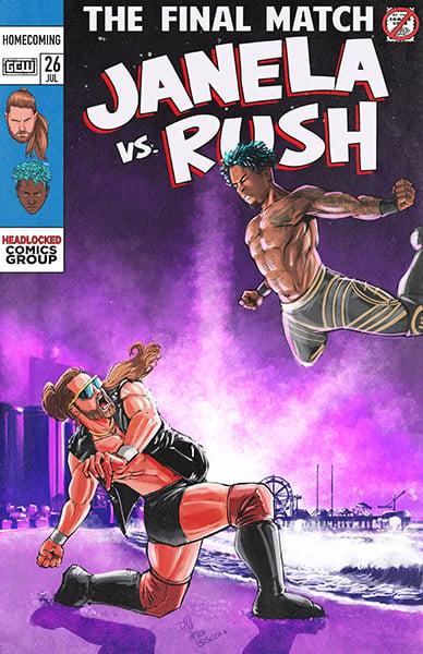 Image of GCW Homecoming Janela vs Lio Rush