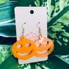 Jack O' Lantern Earrings