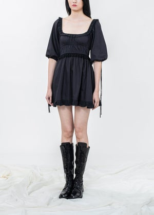 Image of SAMPLE SALE - Lilydale Mini Dress - Black