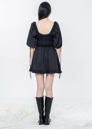 Image of SAMPLE SALE - Lilydale Mini Dress - Black