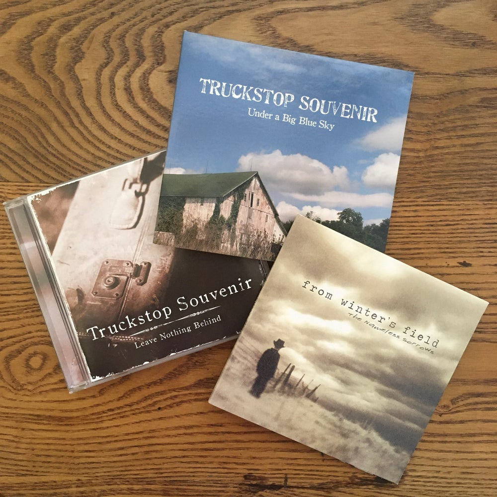 Image of Truckstop Souvenir/The Nameless Sorrows Signed Three Pack