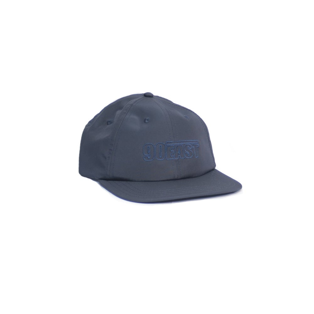 Image of 90East Nylon Tech Hat - Navy