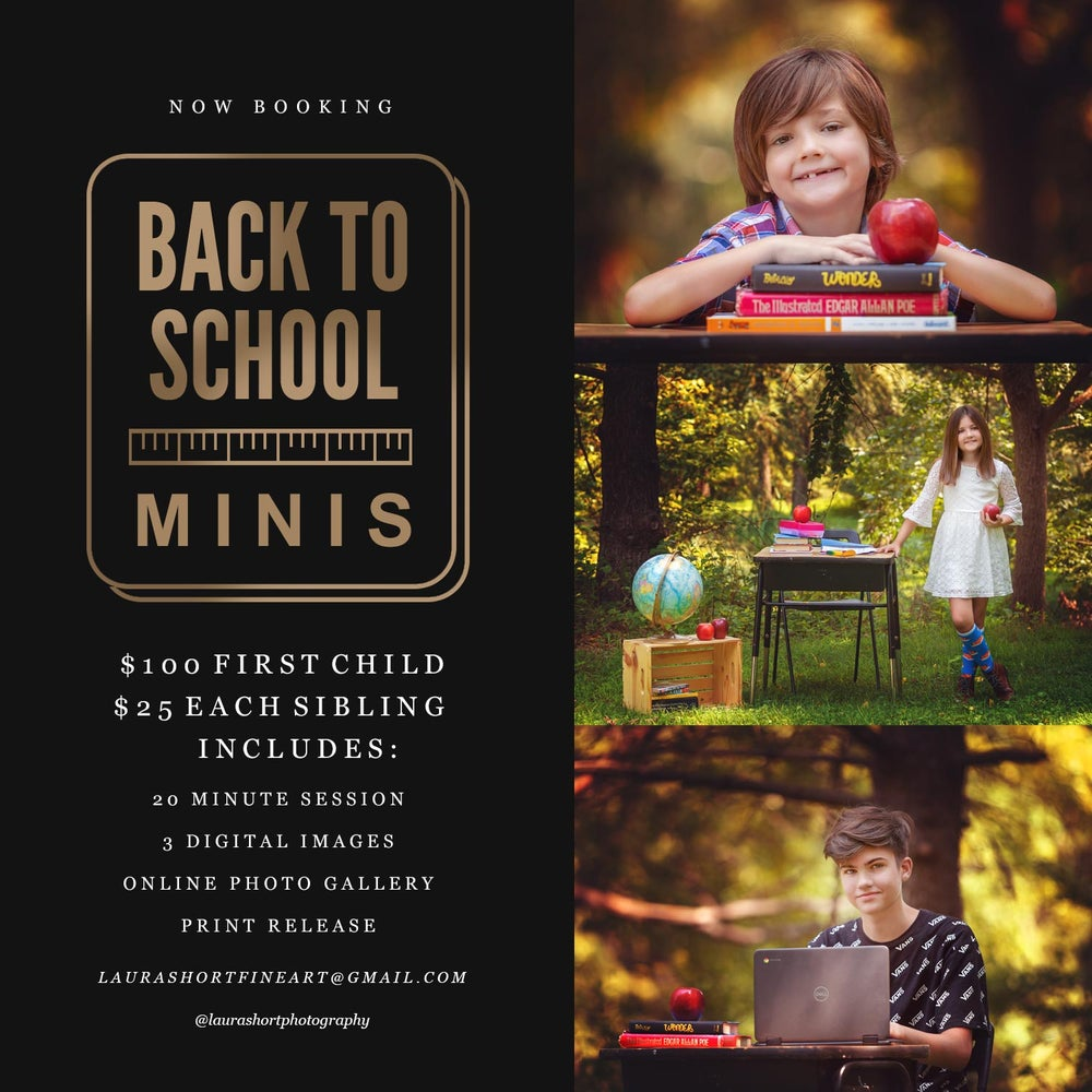 Image of Back To School Mini Sessions 2020
