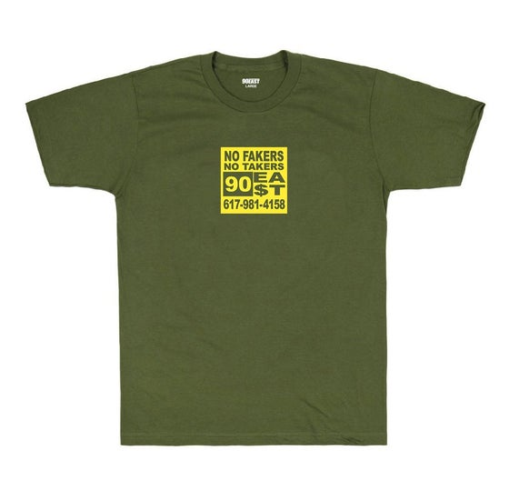 Image of 90East Everywhere Tee - Army Green