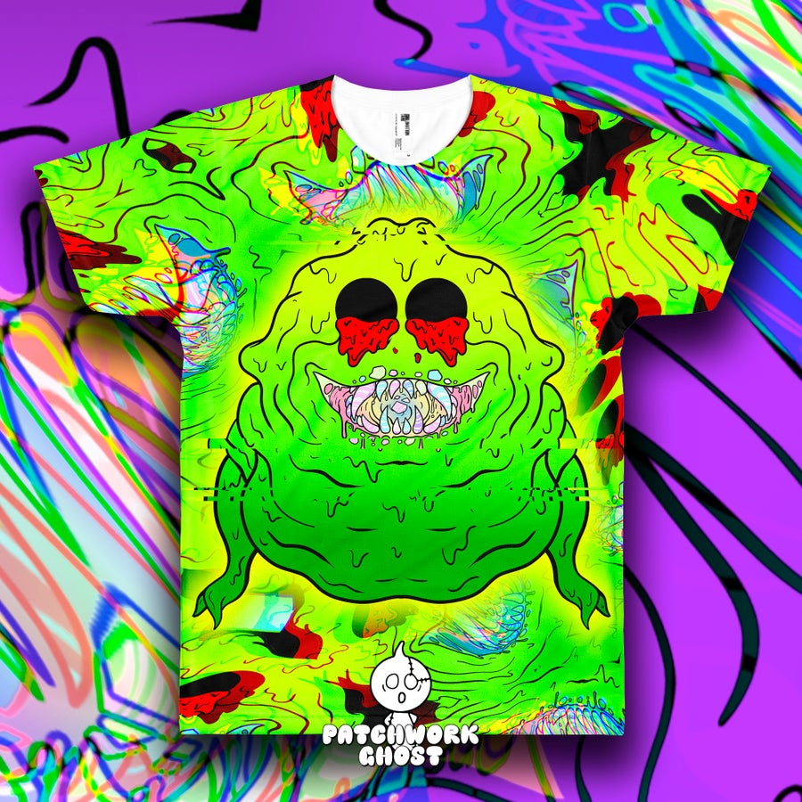 Image of Slimed All Over Print Shirt