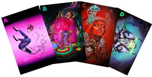 Image of 4 New Holographic Print Pack