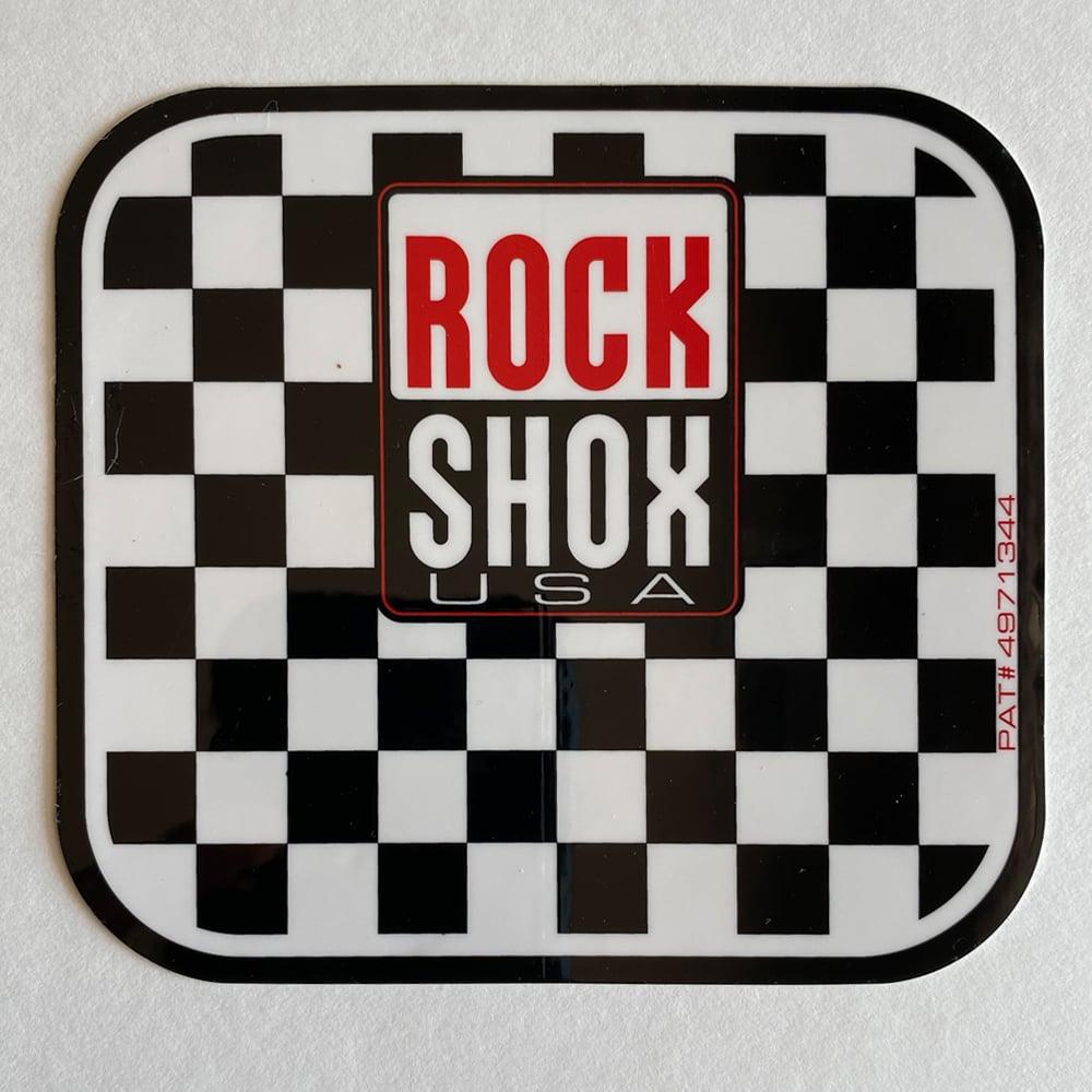Image of RockShox and Santa Cruz Bikes Vintage Stickers