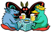 Image of Cryptid Party sticker
